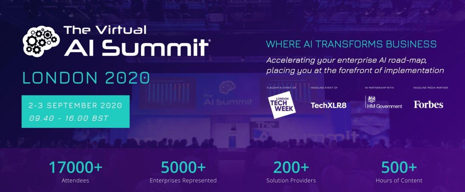 AI Summit 2020 Banner