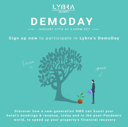 Optimize your revenue management strategy at Lybra's DemoDay