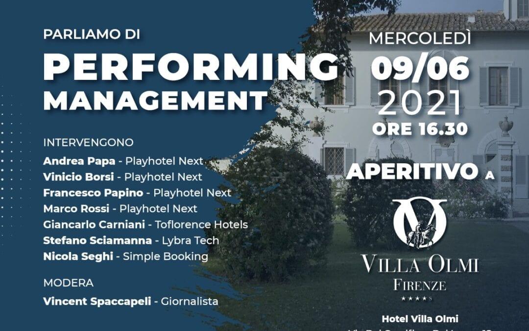 Performing Management   Firenze 9 Giugno 2021