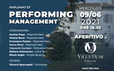 Performing Management | Firenze 9 Giugno 2021